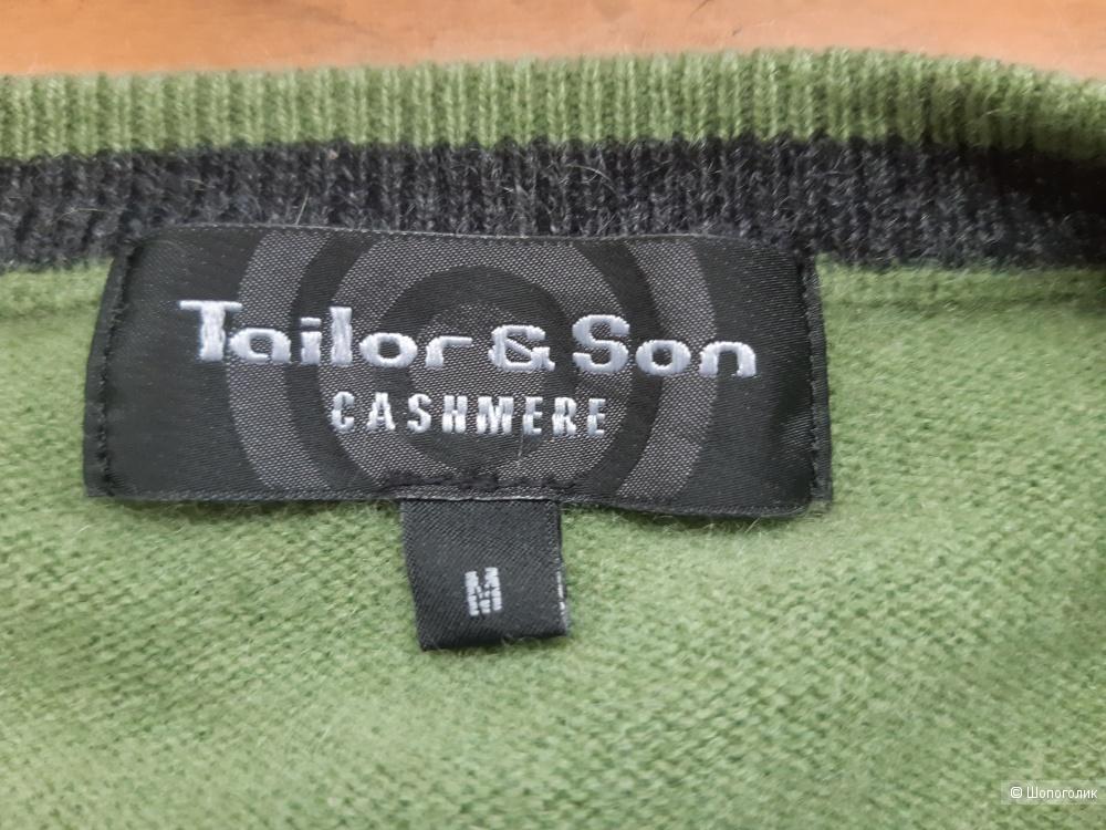 Пуловер кашемировый «Tailor & Son», р. М