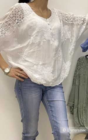 Блуза кружево SILK MODA ITALIA, 42-50