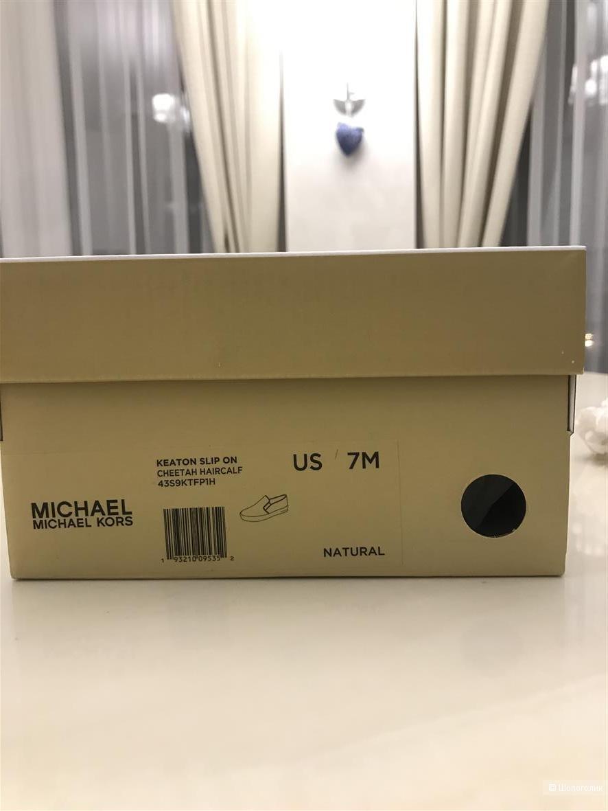 Слипоны Michael Kors, размер 7 US.
