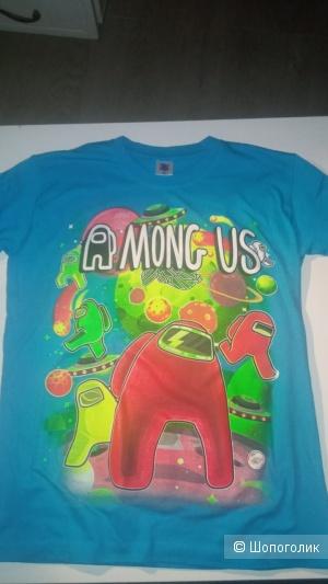Майка-футболка Among us, рост 160-165 см