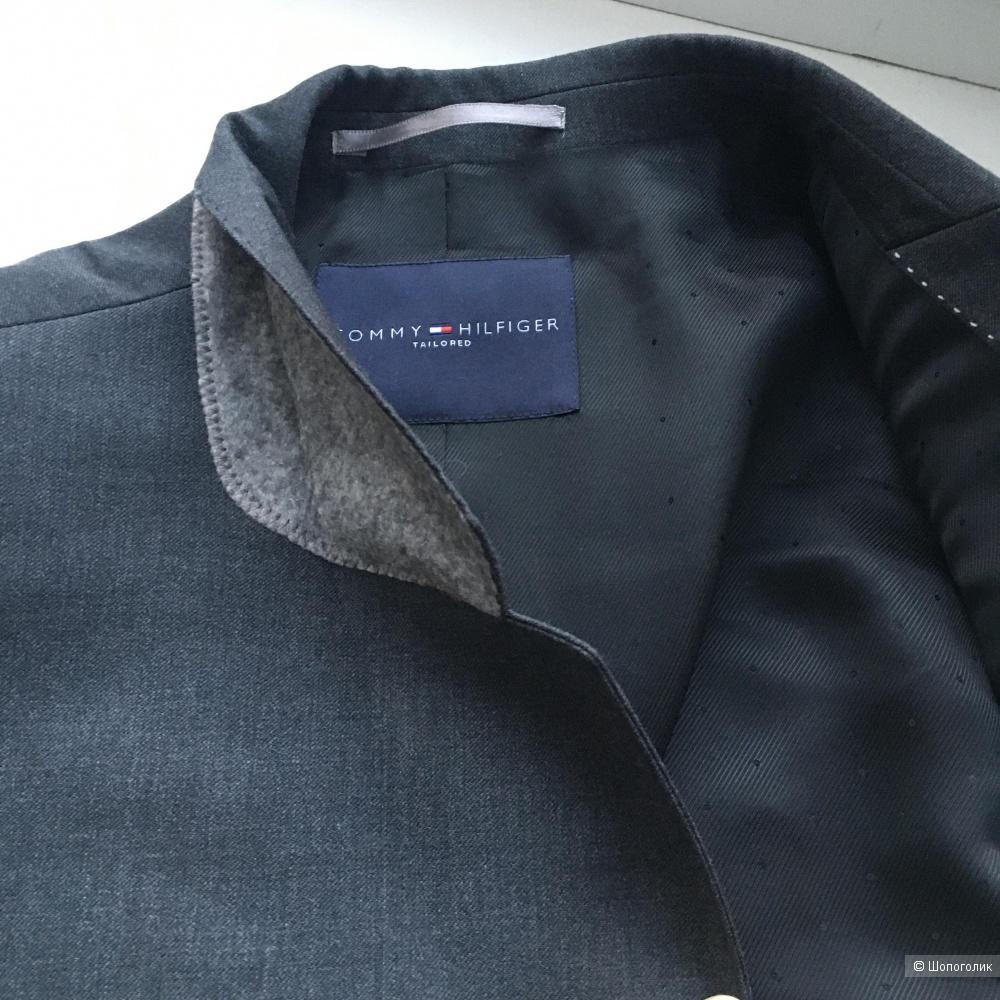Мужской пиджак Tommy Hilfiger, шерсть, размер L (50)