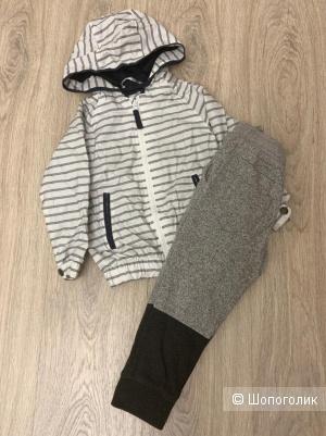 Детский сет ветровка / брюки 3/4 года
