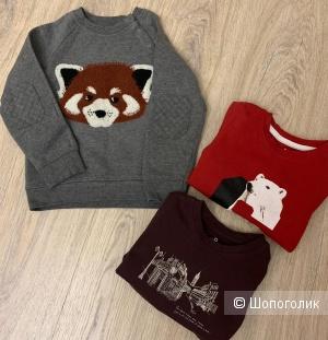 Сет детской одежды джемпер/ лонги 3/4 года