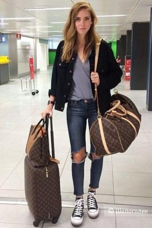 Сумка дорожная LOUIS VUITTON travel bag keepall, one size