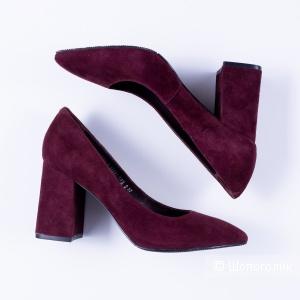 Туфли женские, ALBA, 37 размер, натуральная замша