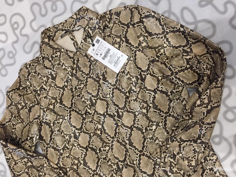 Рубашка с принтом ZARA S(s/m)