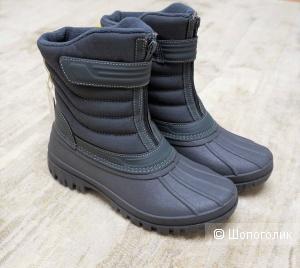 Стеганые сапоги Zara 37 размер (38 EU)