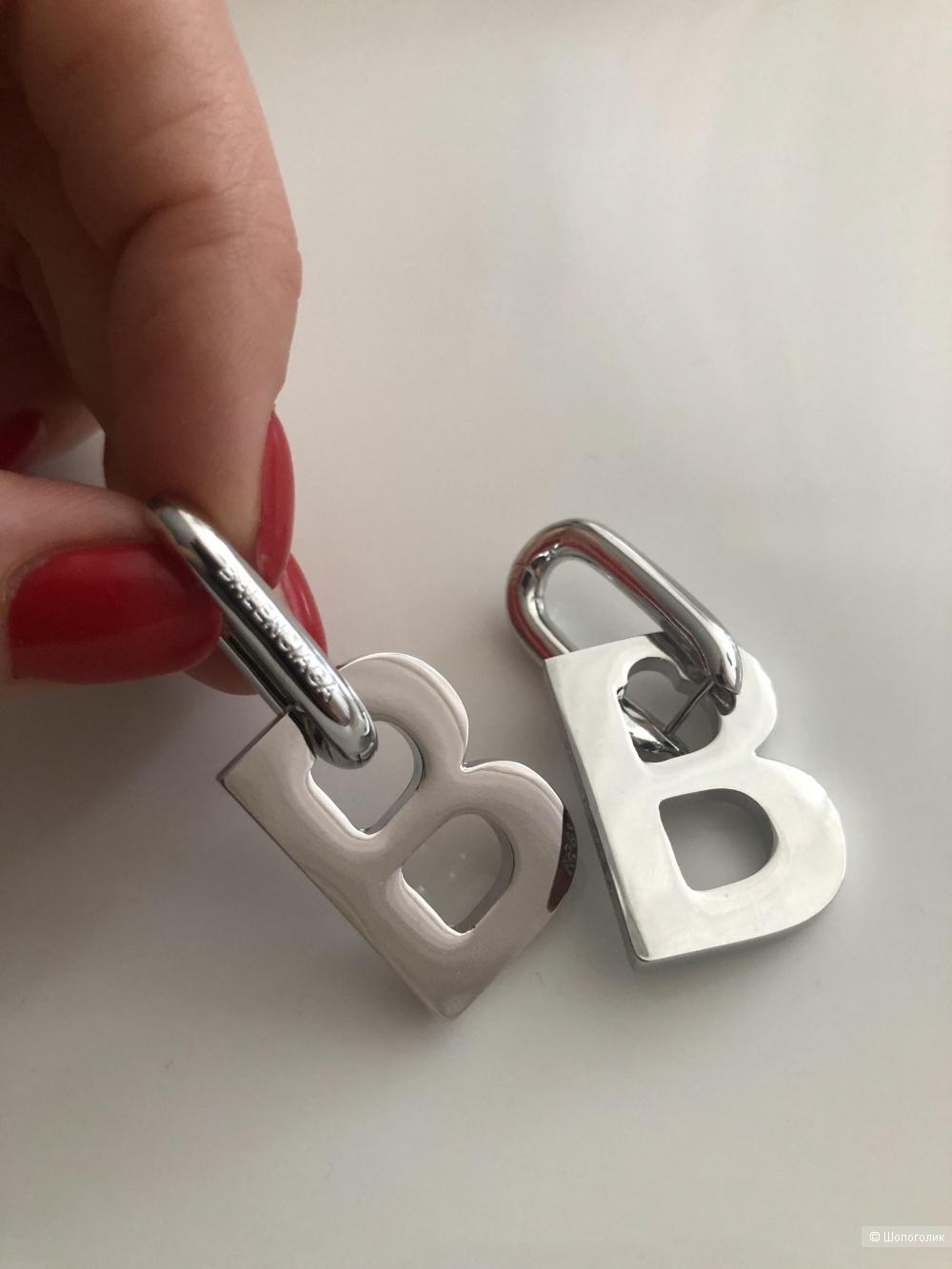 Серьги серия лого B