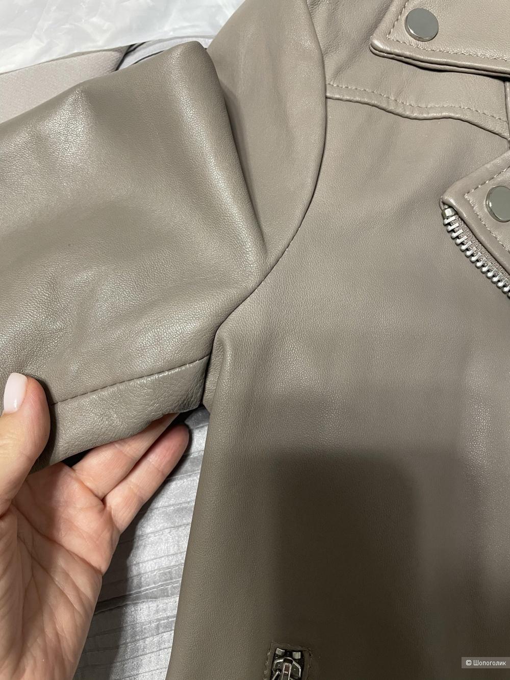 Кожаная куртка Mango, размер S