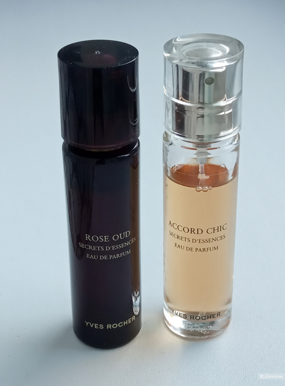 Yves Rocher  Accord Chic и Rose Oud