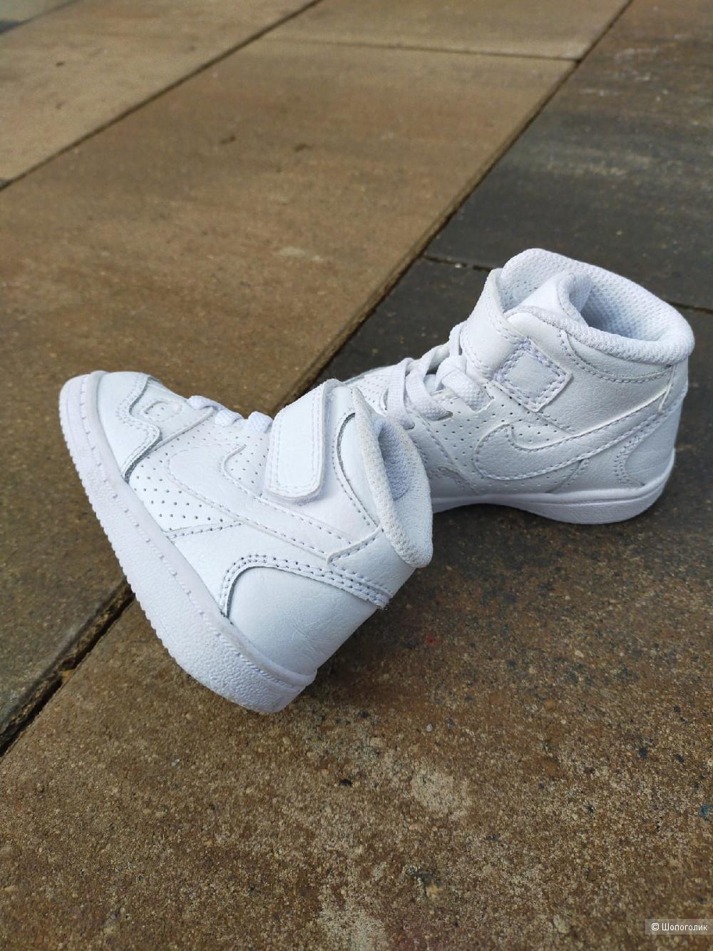 Кожаные ботинки-кроссовки Nike  11, 5 см