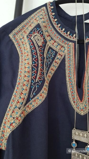 Платье -туника MONSOON, размер 50-52.