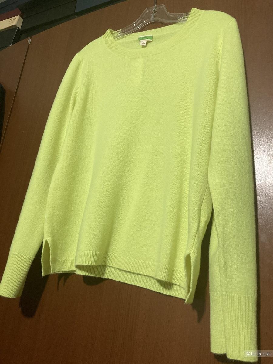 Кашемировый свитер J Crew размер L (=M)