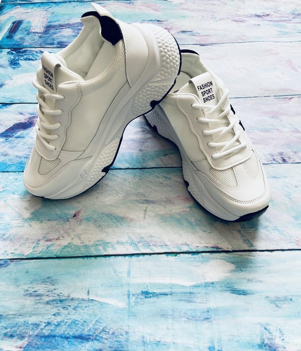 Женские кроссовки на платформе р.36-41