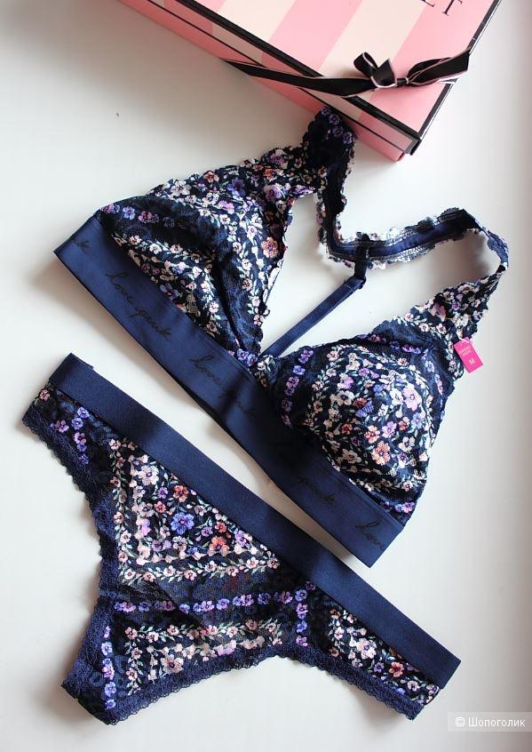 Комплект Victoria's Secret бралетт и трусики, М