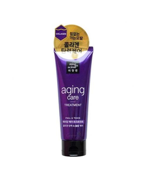 Антивозрастная маска для силы и здоровья волос Mise-en-Scene Aging Care Treatment pack