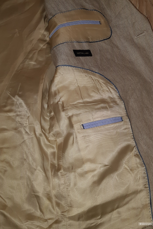 Мужской пиджак massimo dutti, размер 54+-
