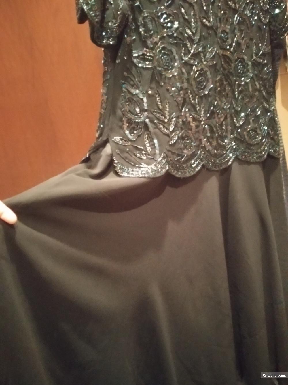 Винтажное платье, 48