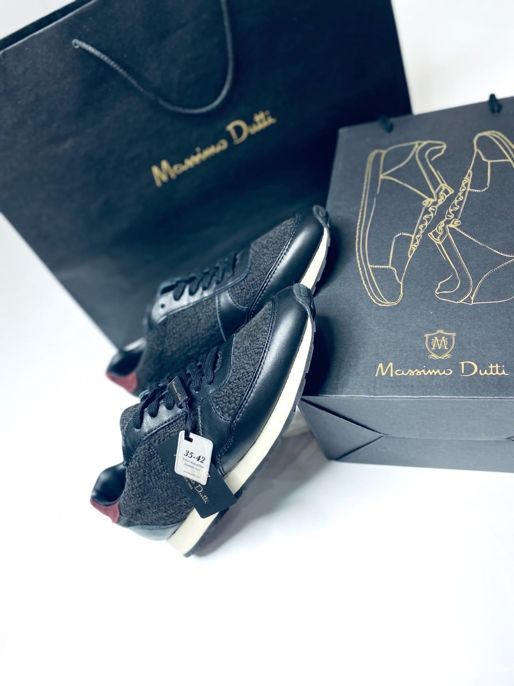 Кроссовки Massimo Dutti 36 размер массимо