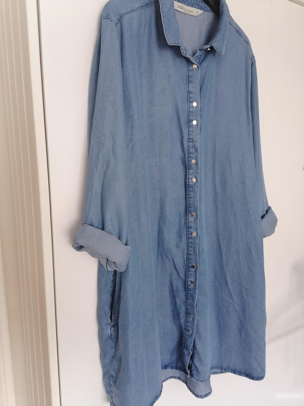 Платье рубашка LCW, размер 48-52, XL/XXL