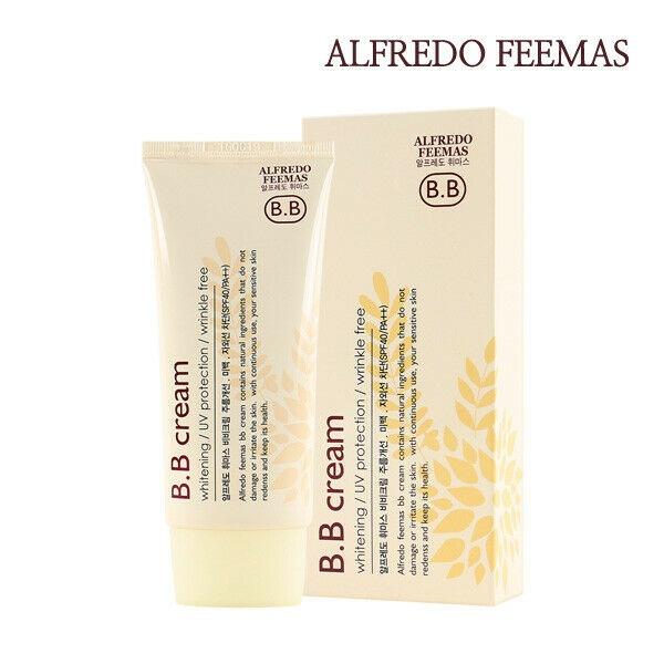ALFREDO FEEMAS BB CREAM SPF40+ PA+++ Многофункциональный ББ-крем, 50мл,