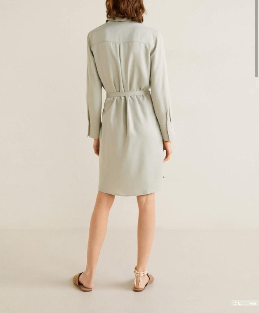 Платье-рубашка Mango размер S-M-L