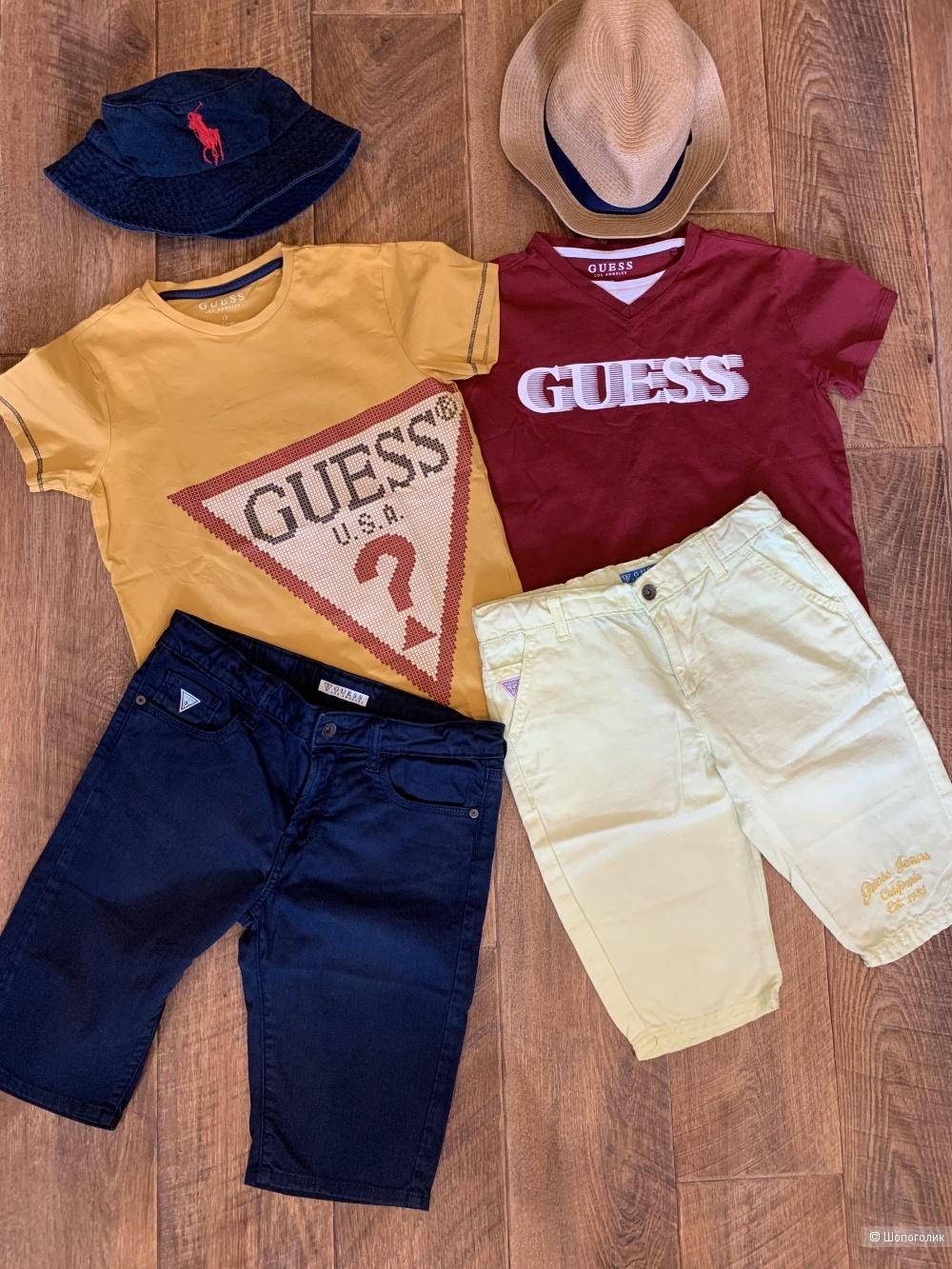 Guess 2 футболки+2 шорт 146-152