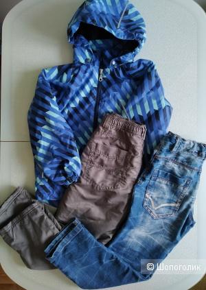 Сет куртка lassie + штаны Palomino+джинсы topolino размер 7-8 лет