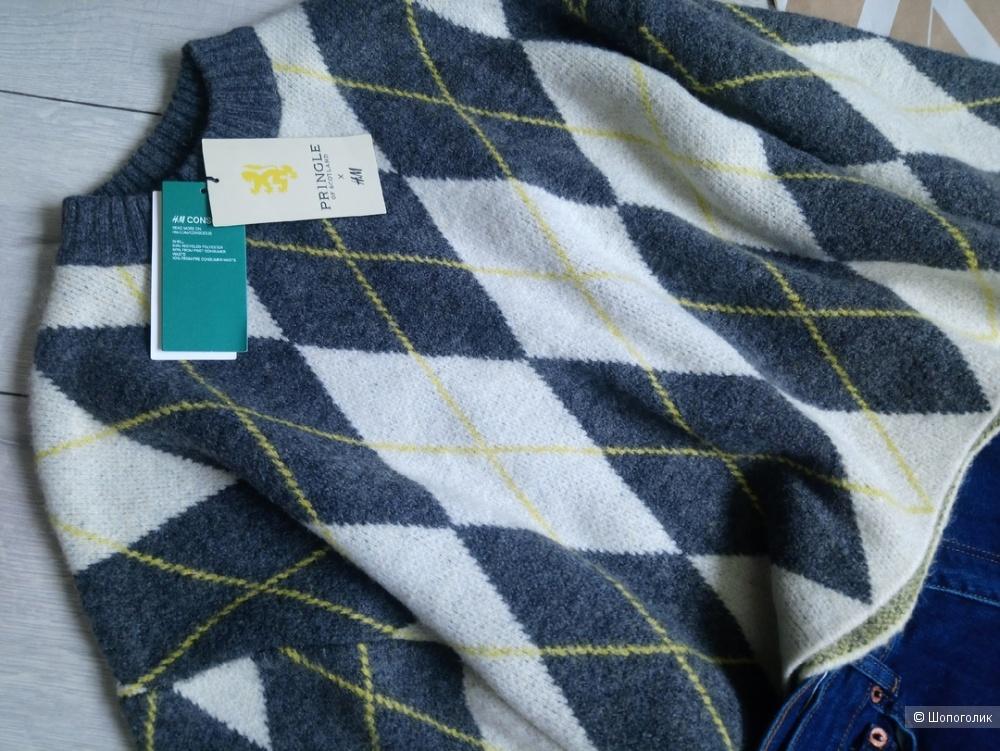Свитшот/джемпер PRINGLE OF SCOTLAND x H&M/CONSCIOUS, размер S/M/L