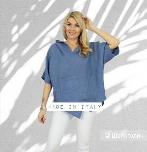 Рубашка блуза лен Veivera, 42-50