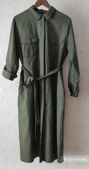 Платье -рубашка Jessica(С&A), на 48-50 р-р