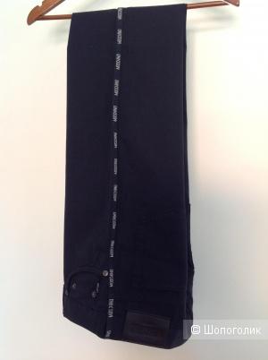 Джинсы/ брюки Moschino, размер 34, на 46-48-50