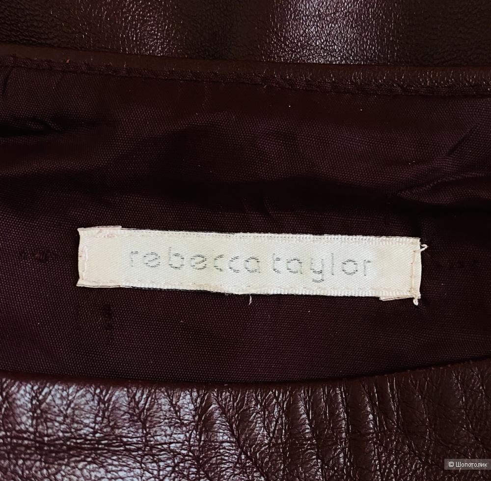 Кожаная юбка Rebecca Taylor, размер S.