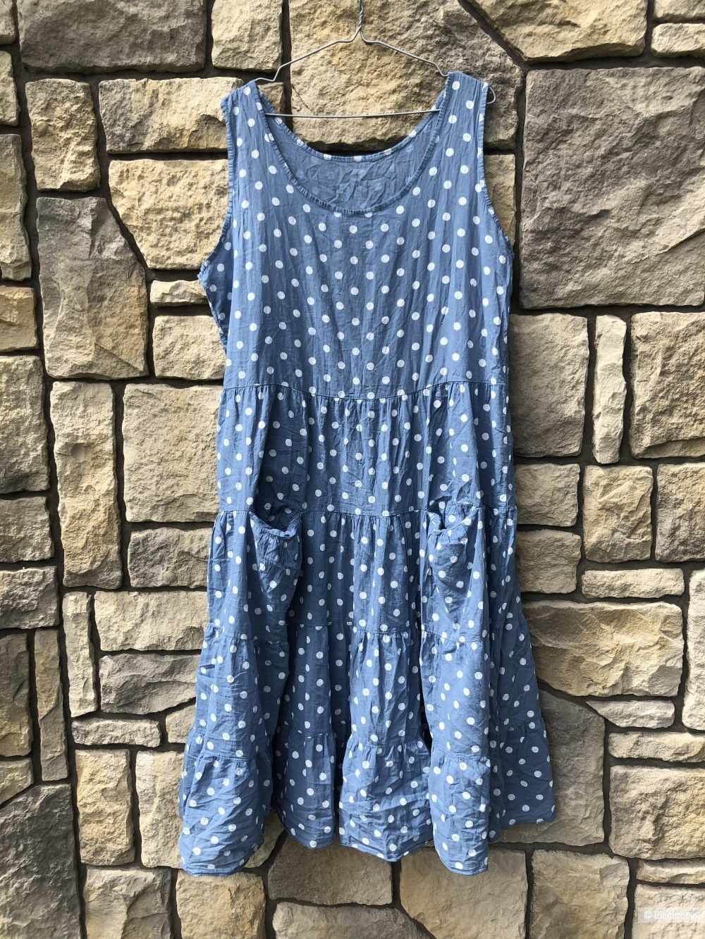 Платье сарафан POLKA DOT ITALY, one size