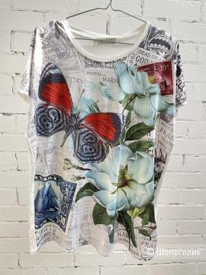 Футболка блуза LAMER, one size