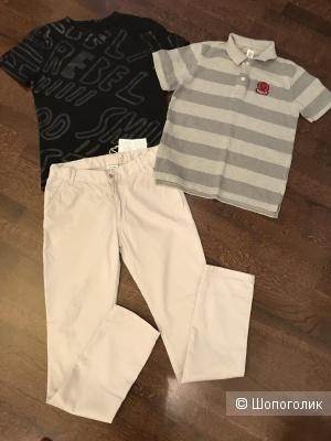 Сет брюки TDM, футболка Antony Morato, поло GAP, 10-13 лет