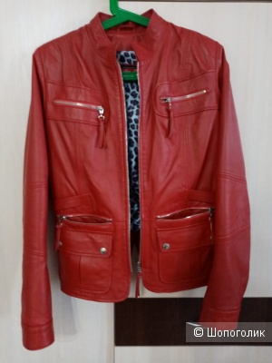 Куртка-жакет натуральная кожа  38 европейский