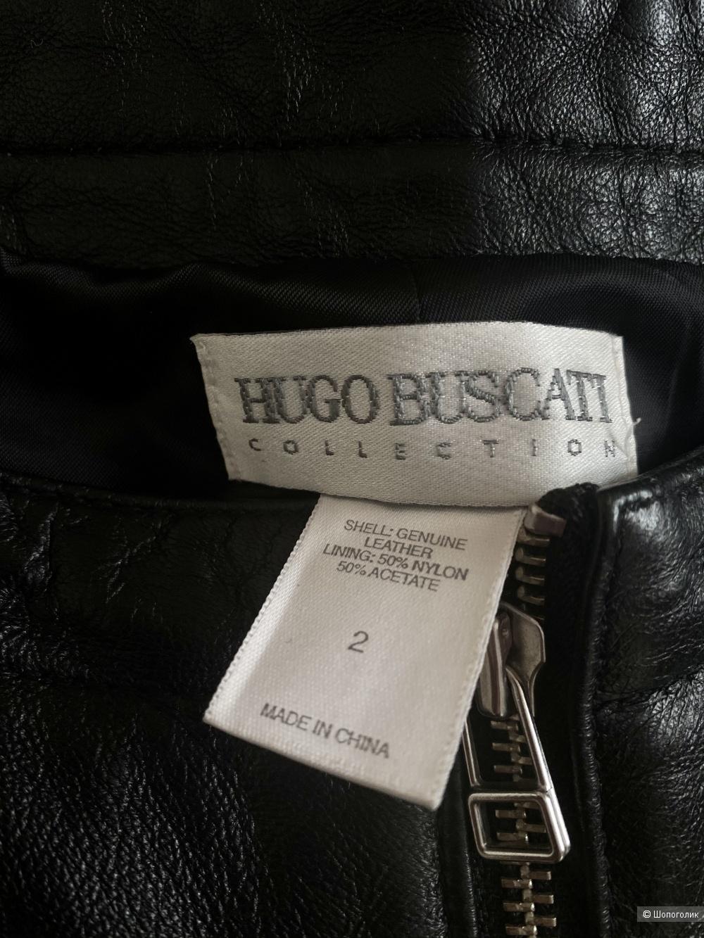 Кожаные брюки Hugo Buscatti, размер S.
