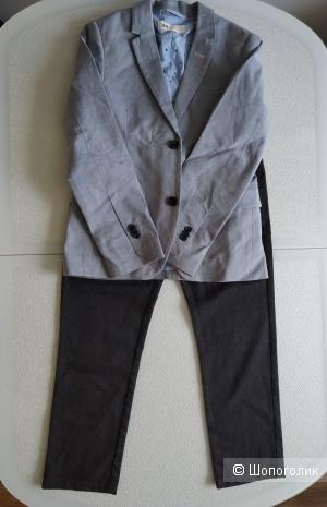 Сет пиджак H&M  + брюки next размер 8/9 лет