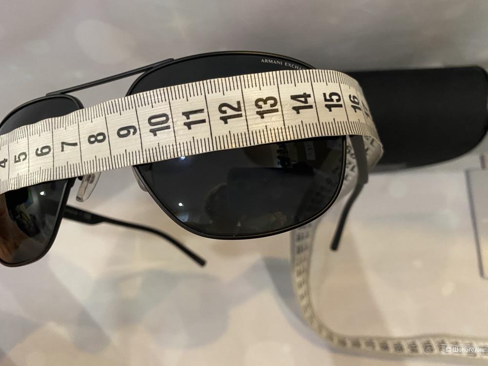 Мужские солнцезащитные очки авиаторы Armani Exchange