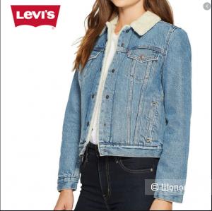 Джинсовая куртка Levis размер М