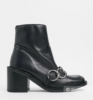 Ботинки кожаные ASRA London, р.37-38