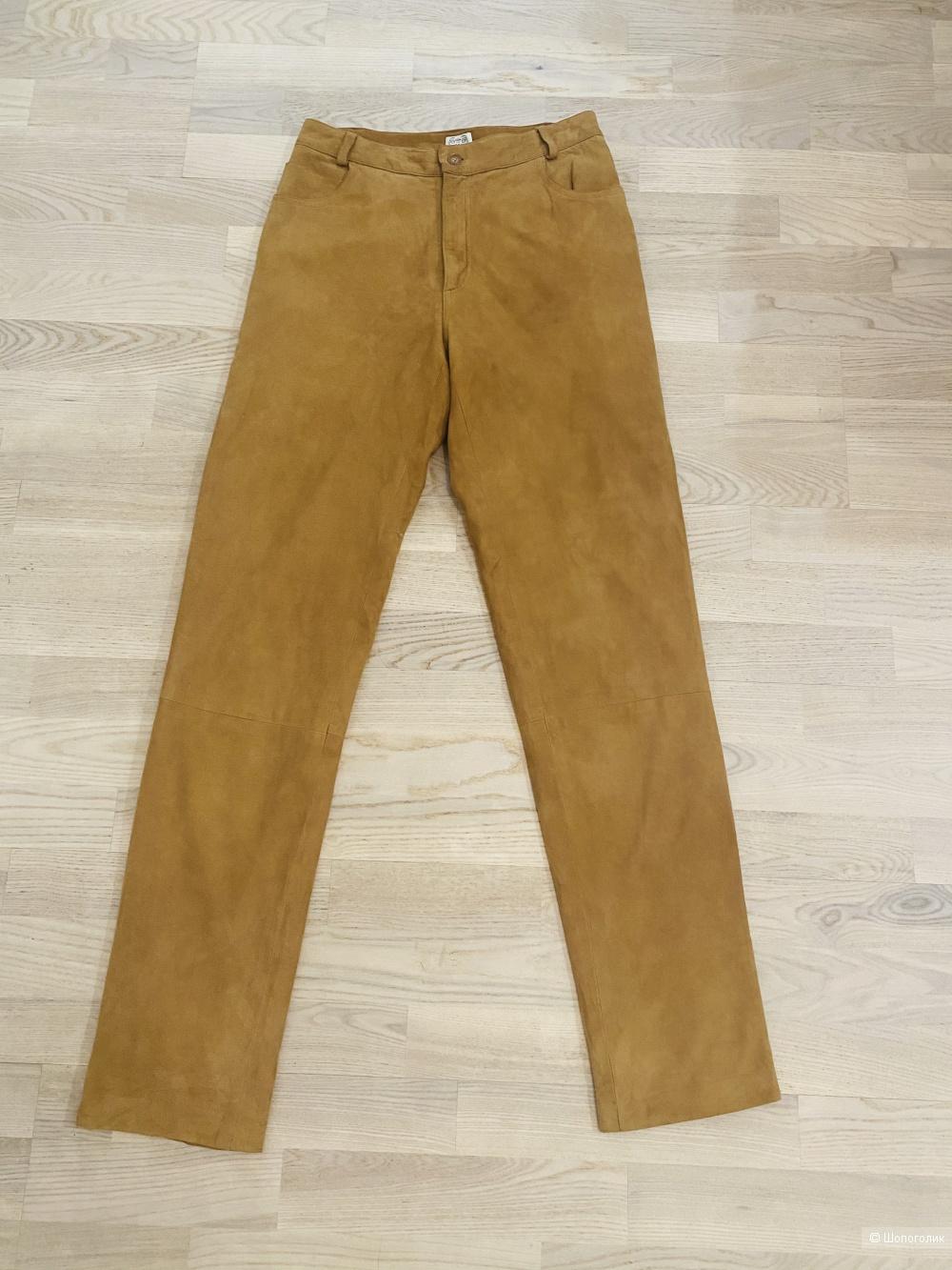 Замшевые джинсы Whatne, размер S.