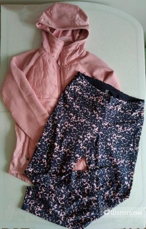 Сет куртка и леггинсы H&M  размер 46/48