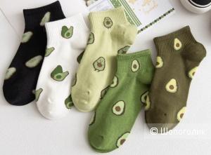 Носки короткие AVOCADO комплект 5шт, 36-41