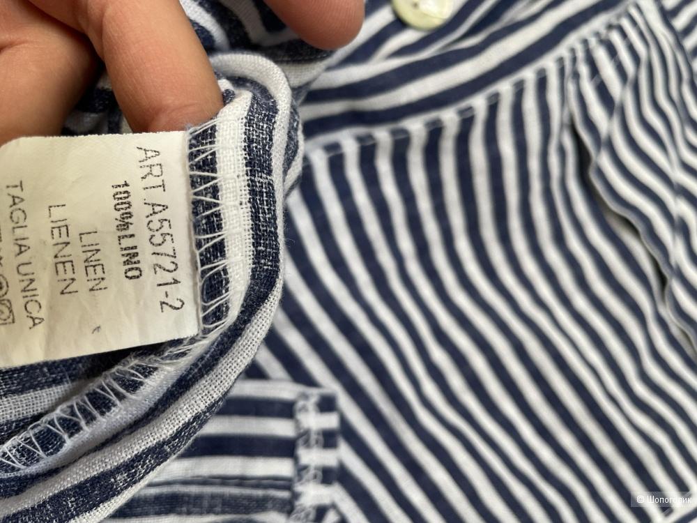 Рубашка жакет LOVE ITALY , оверсайз