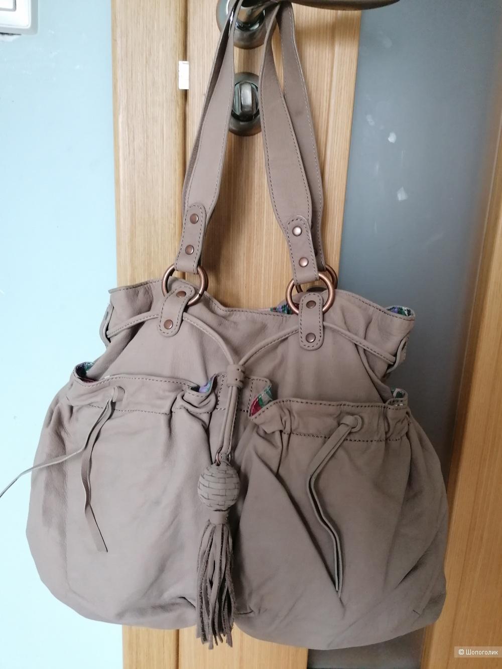Кожаная сумка Gap jeans