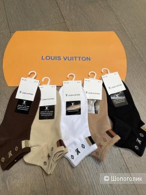 Носки короткие LV комплект 5 шт, one size
