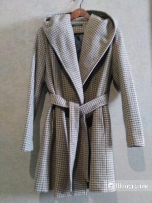 Lauren by Ralph Lauren пальто в лапку. р. 42-44