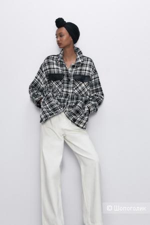 Верхняя куртка-рубашка Zara  размер M